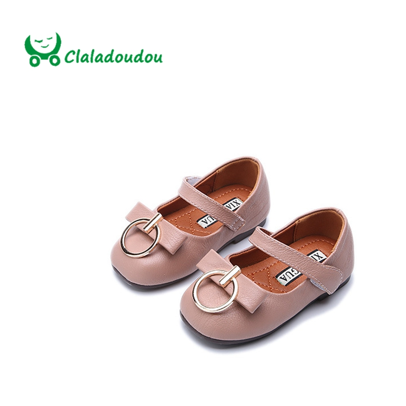 claladoudou 135 155cm girl shoes white square toe fashion kids shoes big ring pink princess toddler wedding dress shoes x3889