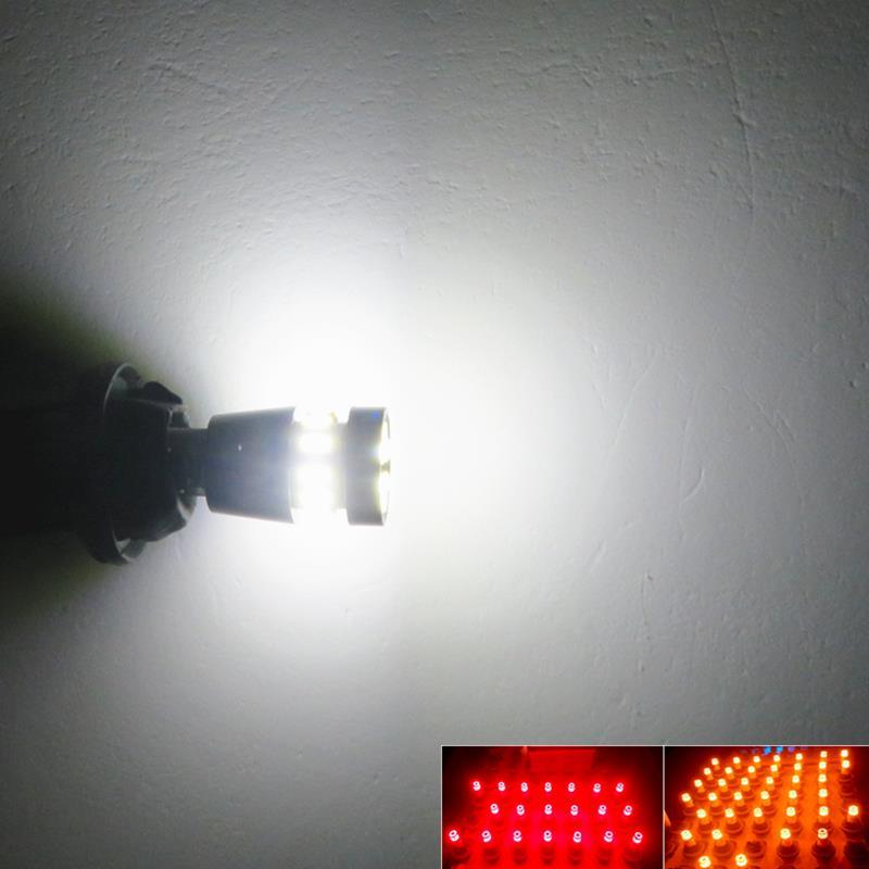 WLJH 2x LED T10 W5W Car LED Auto Lamp 12V լամպեր - Ավտոմեքենայի լույսեր - Լուսանկար 5