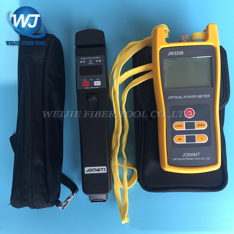 2 PCS/lot JOINWIT JW3208 Optical Power Meter -70~+6dBm+JW3306D Fiber Identifier2 PCS/lot JOINWIT JW3208 Optical Power Meter -70~+6dBm+JW3306D Fiber Identifier