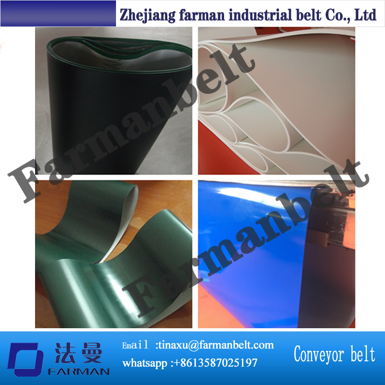 best quality customized green,white,black,blue PVC conveyor belt цена