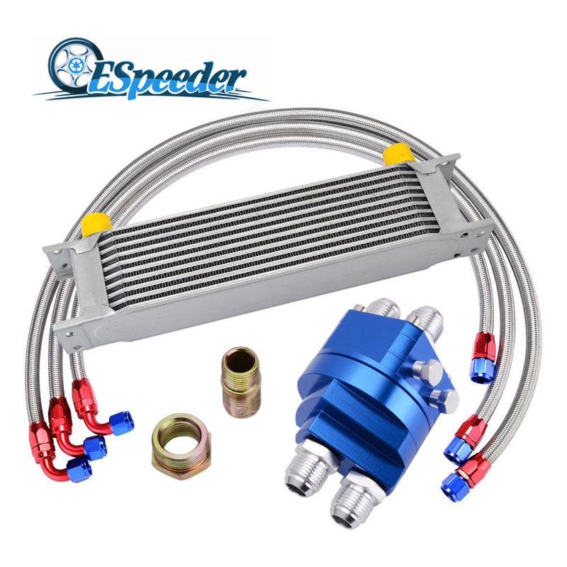 Здесь продается  ESPEEDER AN10 Kit 10 offers Transmission Oil Cooler Filter Adapter M20XP1.5 & 3/4X16 UNF Fitting Adapter Stainless Steel Braided  Автомобили и Мотоциклы