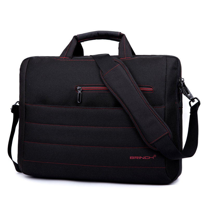 BRINCH laptop bag 15.6 inch 17.3 inch business woman with a single