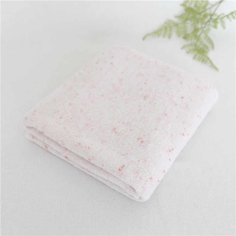Cor de Pêssego macio Estiramento Malha Cobertor Posando Fundo Cobertor Tecido Beanbag Bolha Newboorn Salpicado de Camada de Tecido Pano de Fundo