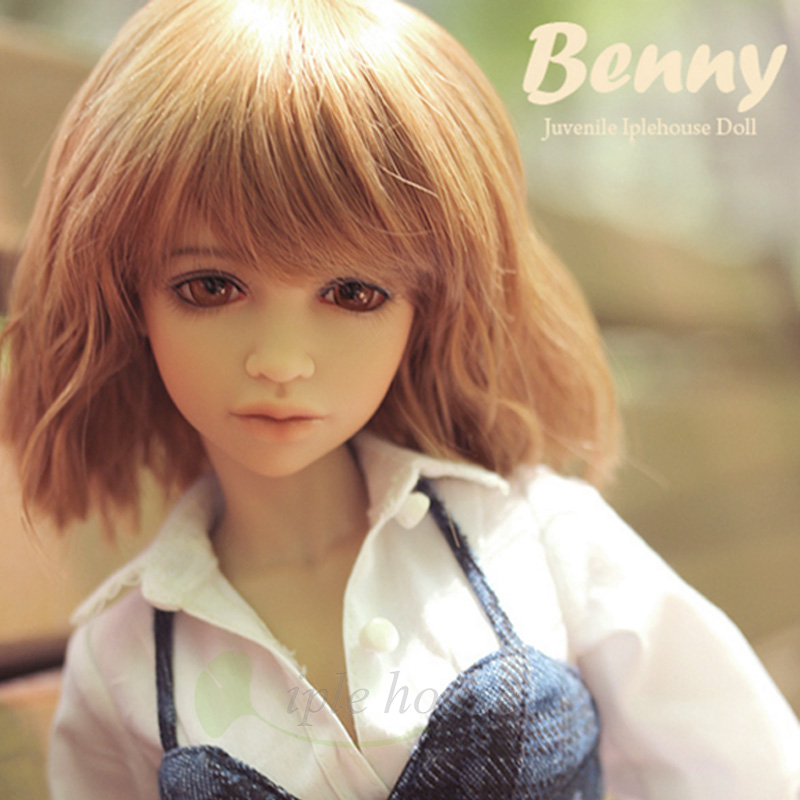 New Iplehouse IP Jid Benny bjd sd doll 1/4 body model Joint doll gift reborn girls High Quality resin toys free eyes