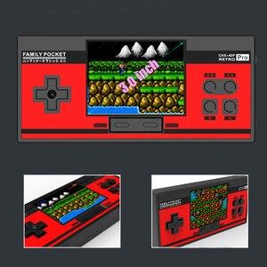 Image 5 - RS88 Familie Tasche Spielkonsole Retro Tragbare Mini Handheld Spiel Player Eingebaute 348 Klassische Spiele 3,0 Zoll Farbe LCD Für NES G