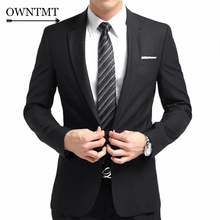 HOT Tuxedo Brand Fashion Designer Men Suit Mens Slim Fit Suit Jacket With Pants Formal Business Wedding Bridegroom Suit Blazer
