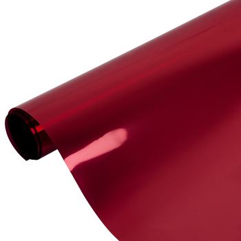 1.52x10m Red&Silver Window Film One Way Mirror Home Office Decorative Film Reflective Mirrored Heat Proof film 60''x33ft