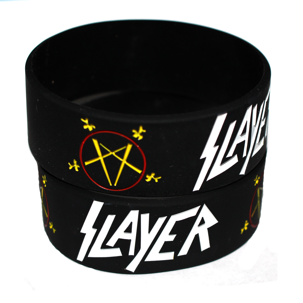 1pc Retail Rock Band Slayer Silicone Wrist Bracelets Gift To Friends In Id From Jewelry Accessories On Aliexpress Alibaba Group