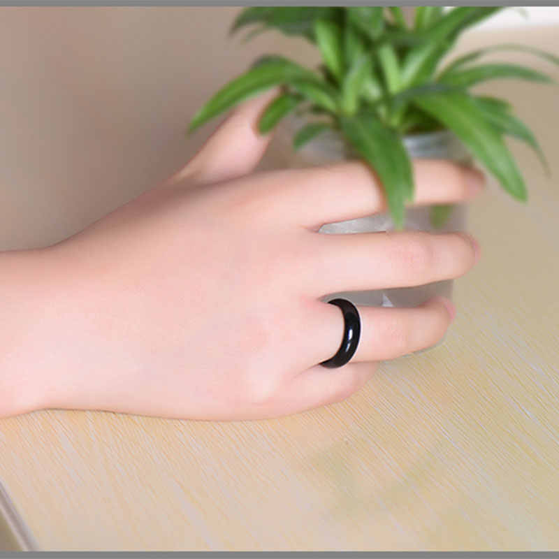 KYSZDL 2018ร้อนขายที่มีคุณภาพสูงธรรมชาติสีเขียว/สีแดงหินหินคริสตัลแหวนเครื่องประดับแหวนของขวัญสำหรับผู้หญิงและผู้ชายW Eijie