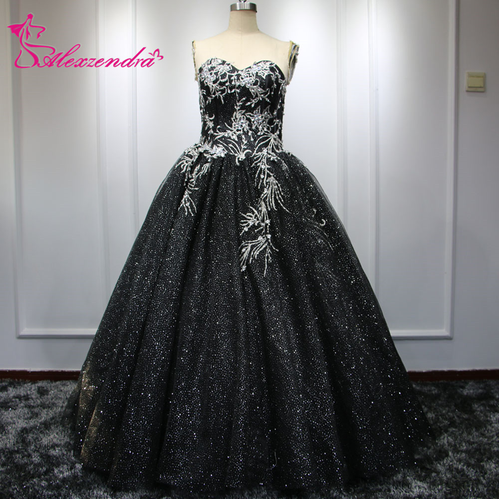 Online Get Cheap Black and Silver Ball Gown -Aliexpress.com ...