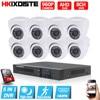 8CH CCTV System AHD 1080N CCTV DVR 8PCS 960P IR Indoor Security Camera Home Video Surveillance