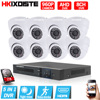 8CH CCTV System AHD 1080N CCTV DVR 8PCS 960P IR Indoor Security Camera Home Video Surveillance