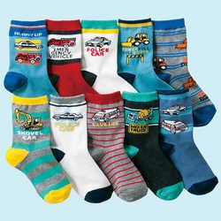 10 pairs/lot  4-12 years kids socks cartoon cotton boys socks high quality