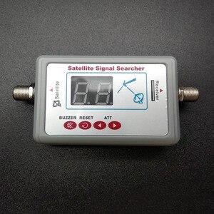 Image 5 - ТВ антенна цифровой спутниковый измеритель сигнала ЖК экран дисплей FTA DIRECTV указатель сигнала ТВ инструмент для поиска сигнала