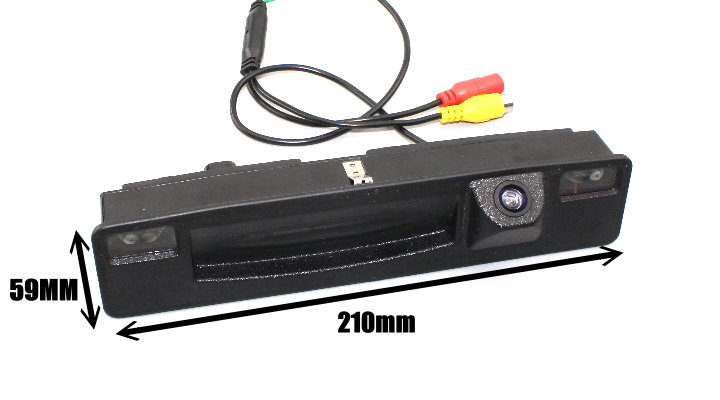 Liislee For Ford Focus 2015~2018 Trunk Handle  Car Rear View Rearview Camera Backup Reverse Parking Camera  Night Vision size