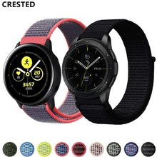 Gear S3 Frontier strap For Samsung Galaxy watch active/46mm Amazfit bip strap 42mm 20mm huawei watch gt strap 22mm watch band