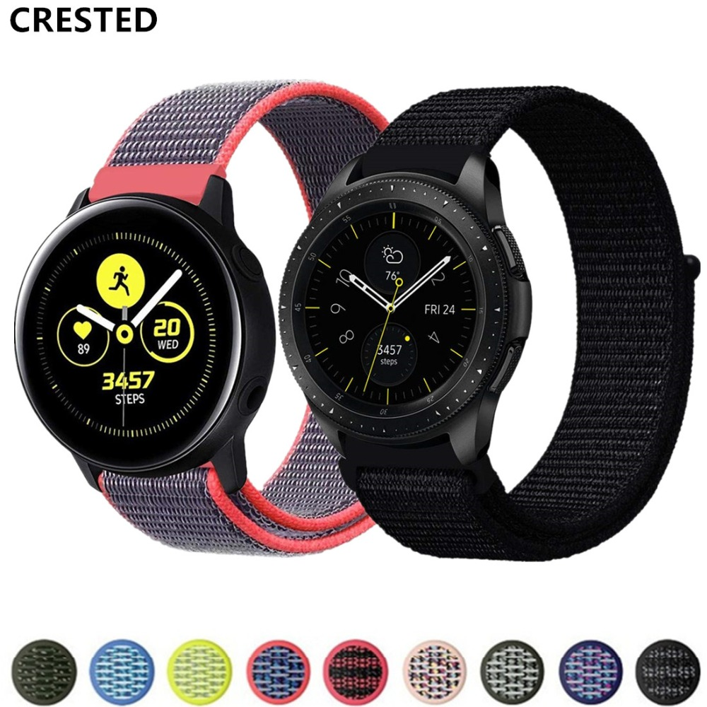 Gear S3 Frontier Strap For Samsung Galaxy Watch 46mm/active 2 Amazfit Bip/gtr 47mm Huawei Watch Gt Strap 20mm 22mm Watch Band