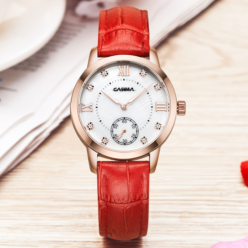 Luxury brand watches women Fashion casual charm quartz wrist watch relogio feminino waterproof CASIMA #2606 2017 luxury brand fashion personality quartz waterproof silicone band for men and women wrist watch hot clock relogio feminino