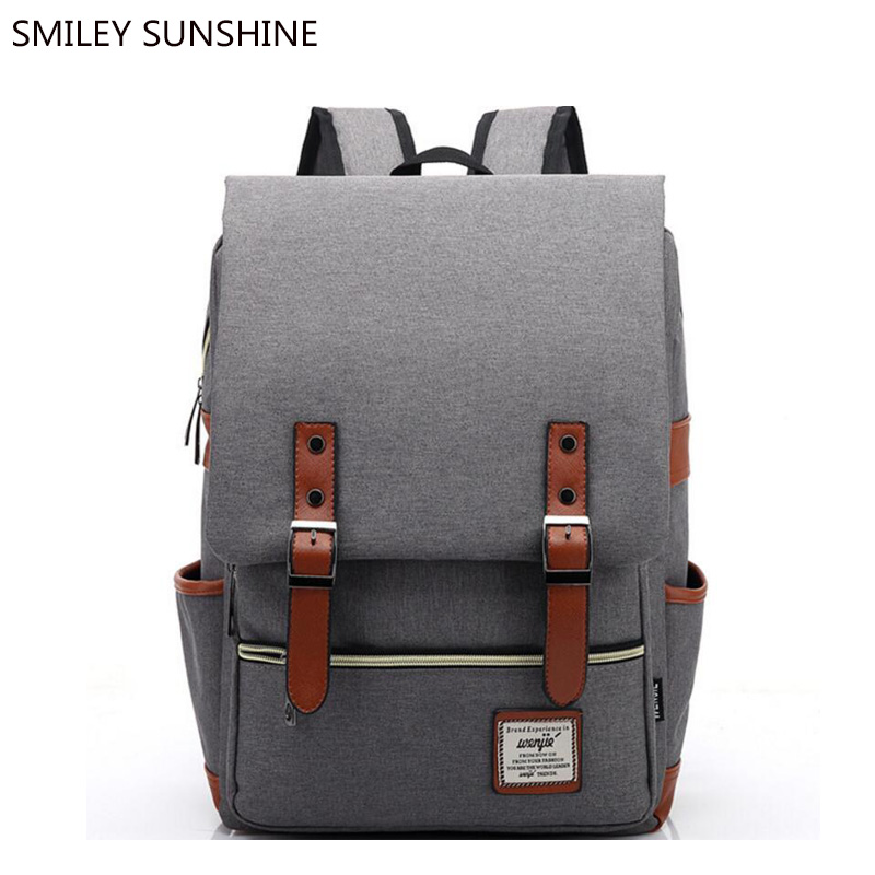 Canvas School Backpack Men Fashion School Bags For Teenagers Girls Korean Feminine Women Backpack Youth mochila sac a dos femme