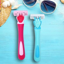 Women Safe Shaving Rozor Hair removal Colorful Makeup Facial Hair Razors Knife Stainless Steel Blade Brow Trimmer Remover