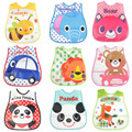 16 Colors Cartoon Pattern Waterproof Baby Bibs Toddler Bavoir Bandana Health Babador Infant Baby Cute Feeding Bid Free shipping