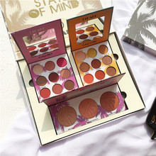 Summer Collection Makeup Set 21 Colors Eyeshadow Pallete Shimmer Matte Palette Glitter Pigmented