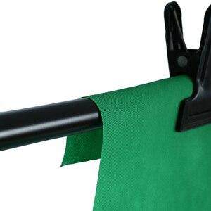 Image 3 - Estúdio de fotografia, 1.6m x 2m/3m/4m não tecido fundo de fundo de cor sólida pano de maquiagem da tela preta verde branca