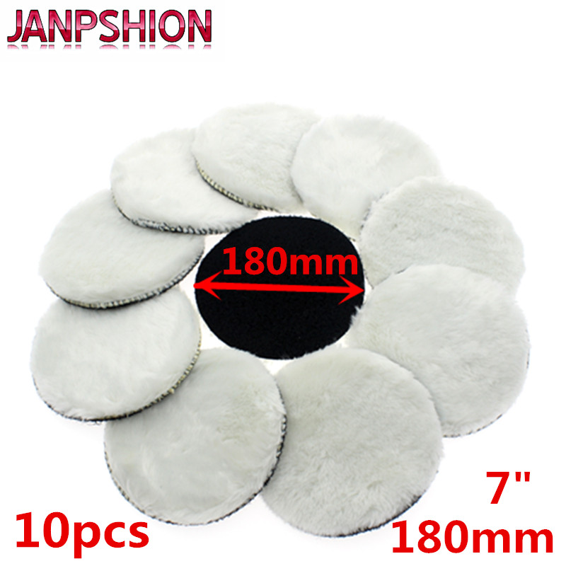 JANPSHION 10pc 180mm Car Polishing Pad 7