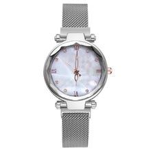 2019 Silver Elegant Ladies Quartz Wristwatches Women Fashion Luxury Diamond Watches
