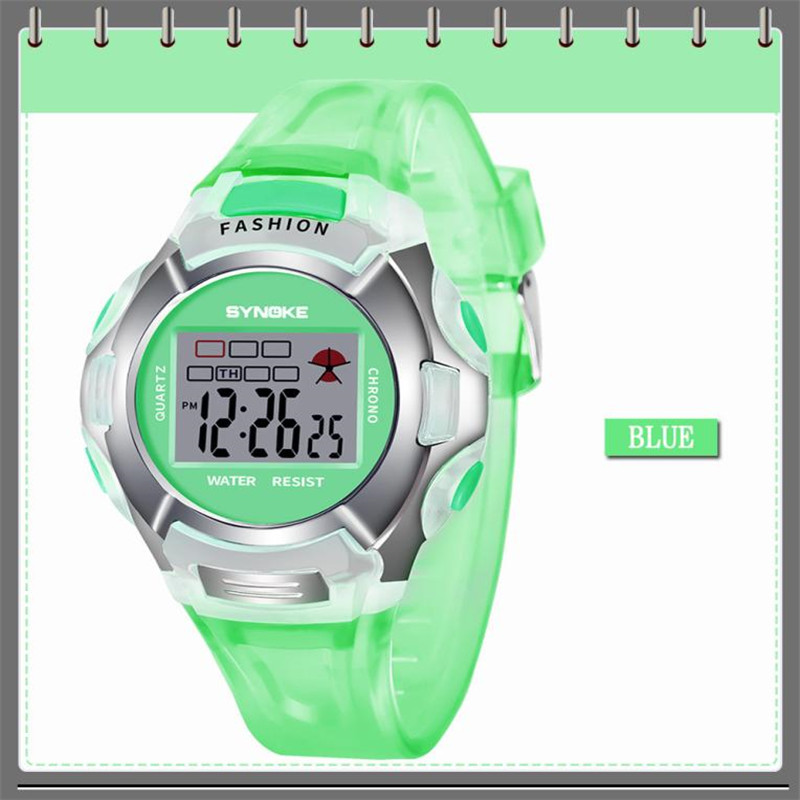 Objective Waterproof Children Sport Watch Boy Digital Led Quartz Alarm Date Sports Wrist Watch Relogio Infantil Relogio Menino Hot Sale Children's Watches