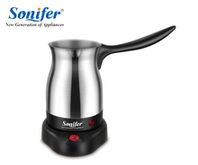 304 Stainless Steel Coffee Machine Turkey Coffee Maker Electrical Coffee Pot Coffee Kettle Sonifer