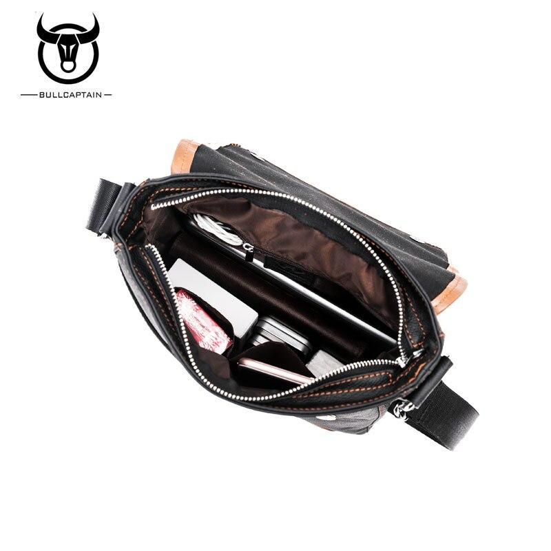 couro crossbody bolsa do homensageiro Formato : Mochilas