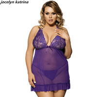 Jocelyn Katrina Brand 2017 Women Sexy Clothes Erotic Underwear Women Baby Doll Sexy Lingerie Hot Transparent