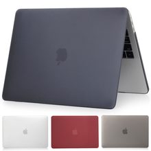 Matte Laptop Case For Apple Macbook Pro Retina Air 11 12 13 15,2019 for mac Air 13 A1932 A1466,New pro 13 15 A1707 A1708 shell(China)
