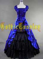Ücretsiz Kargo Toptan lolita Gotik Rönesans Victorian Steampunk Elbise Reenactment Kostüm/Parti Giymek Sahne Balo