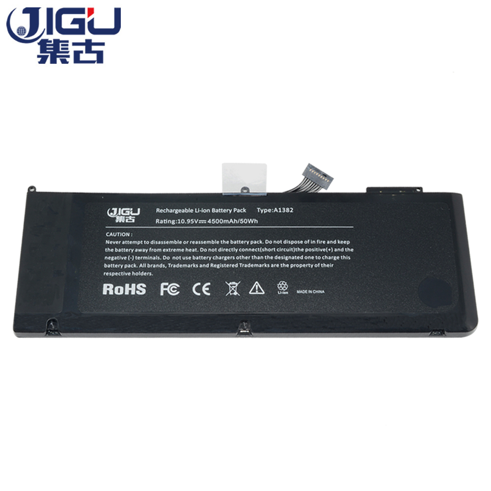 JIGU Battery A1382 020-7134-A 661-5844 For MacBook Pro 15