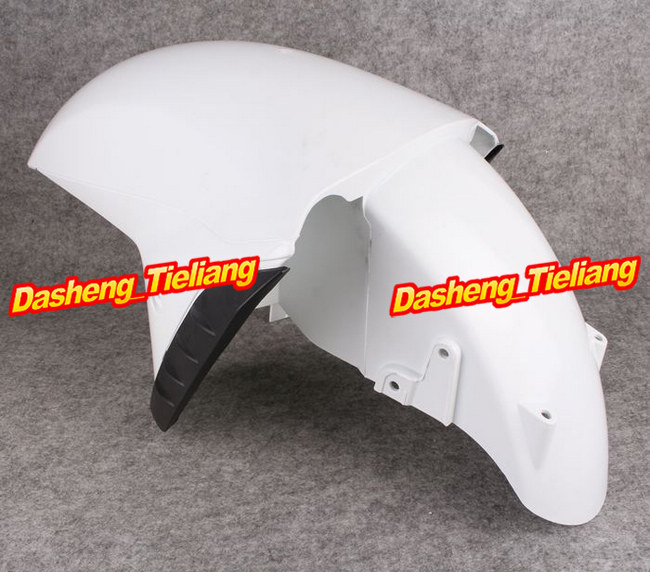 Motorcycle Front Fender Fairing Bodykit For Kawasaki Ninja 2012 ZX14R ZX1400F ABS Injection Cover Parts Unpainted White Plastic unpainted abs plastic front fender fit for yamaha 2008 2012 yzf r6 injection mould motorcycle fairing frame cover part