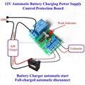 12 V Bateria de Carregamento Automático Controlador Placa de Módulo de Relé de Placa de Proteção