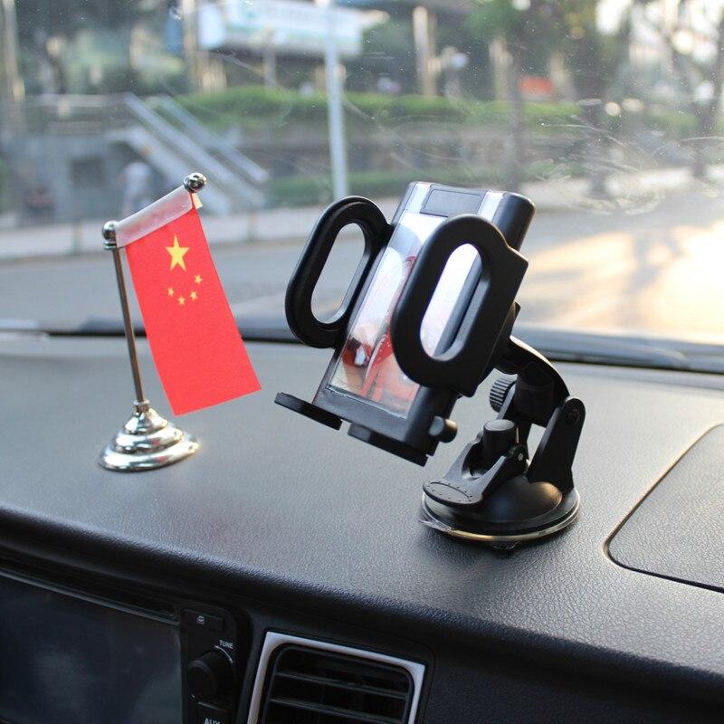 Car Phone Holder Vehicle Windshield Dashboard Sucker Phone Mount Bracket Holder For IPhone Samsung Mobile Phone