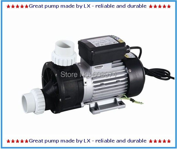 Lowest price  Chinese LX JA50 whirlpool spa pump with 0.5HP as circulation bathtub Pump free shipping to UK,France,Germany,Spain