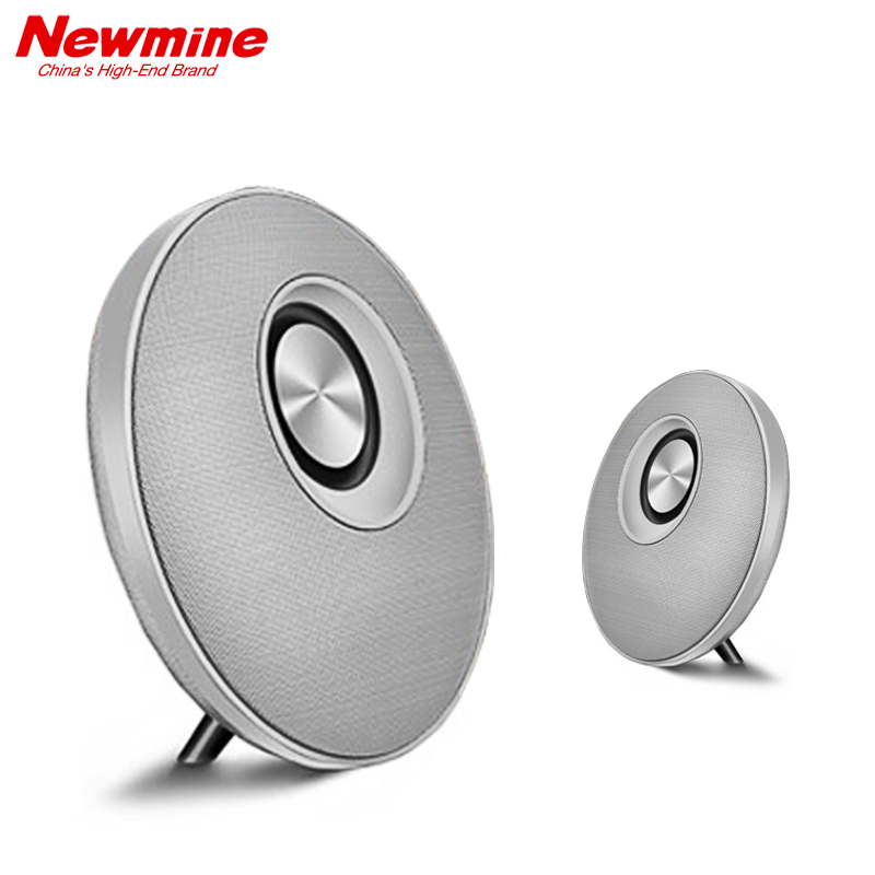 NEWMINE K11 Portable Wireless Bluetooth Speaker For The PC and Phone Mp3  with Mic TF Card Better Bass China's High-End Brand mymei best price new portable 3 5mm pillow speaker for mp3 mp4 cd ipod phone white