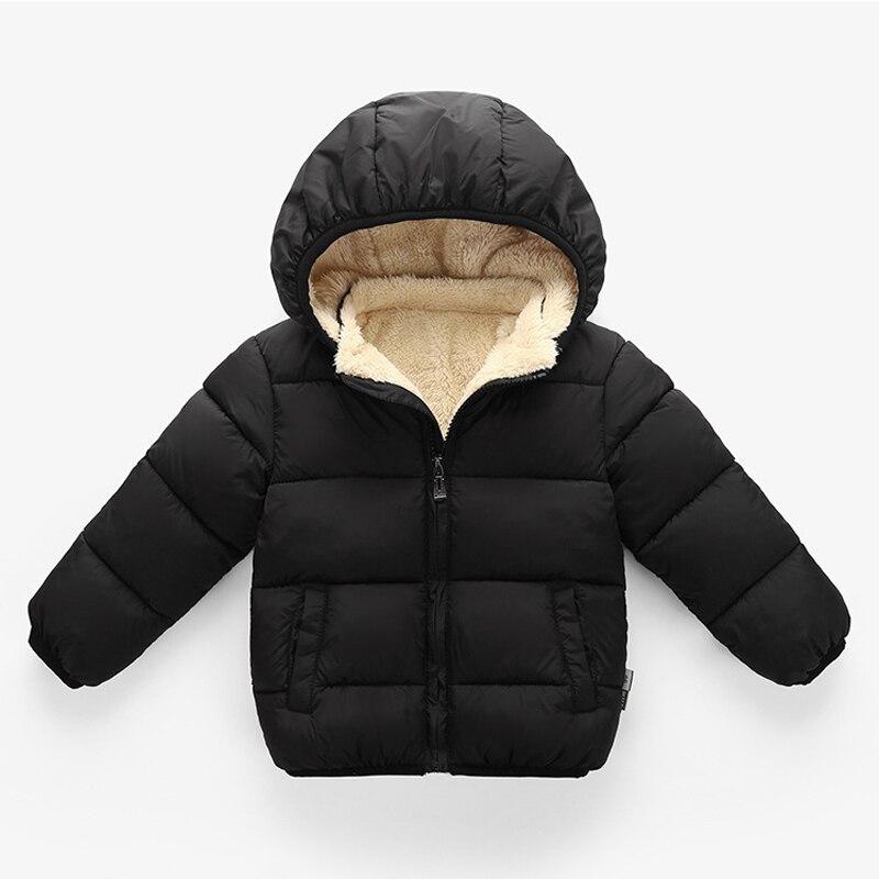 Детское зимнее бархатное пальто с капюшоном, на возраст 1-4 года