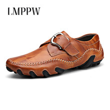 Luxury Brand Men Loafers Genuine Leather Shoes Fashion Men Flats Casual Leather Driving Shoes Comfortable Handsome Men Boat Shoe desai brand luxury brown men genuine leather casual shoes quality soft loafers comfortable shoes for men size 38 43