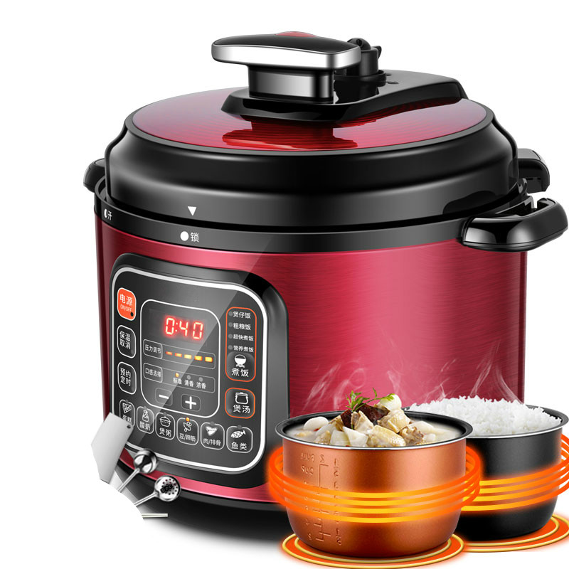 Electric Pressure Cookers Intelligent 5L electric pressure cooker double - tank household high cooker. electric pressure cookers electric pressure cooker double gall 5l electric pressure cooker rice cooker 5 people
