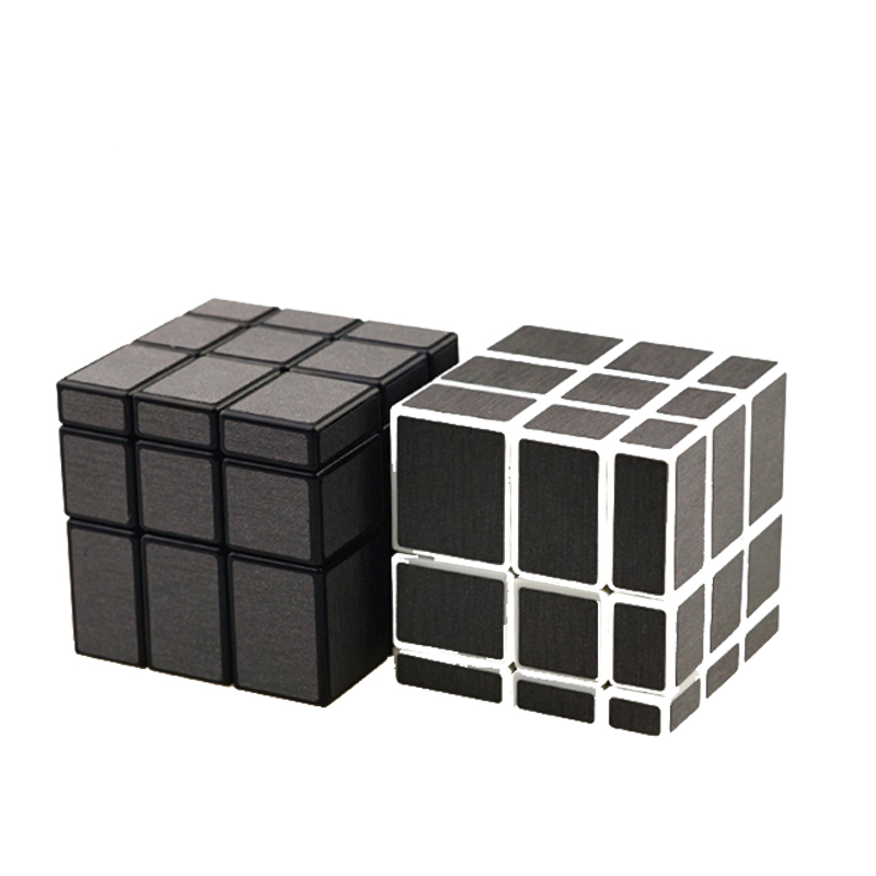 3x3x3 Magic Mirror Cube Competition Magic Cast Coated Puzzle Speed Cube Learning Education Toys For Kids Children Magic Cube