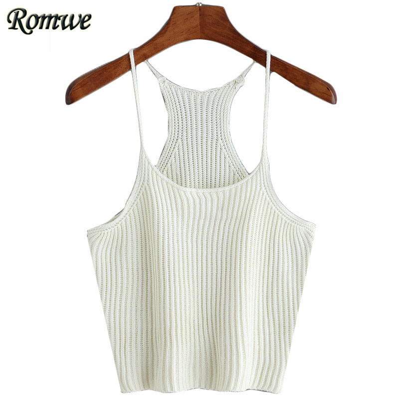 1f71b86d455 ROMWE Cheap China Clothing Halter Tops 2016 Summer Shirts For Women ...