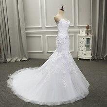 Customized Strapless Court Train Wedding Dress