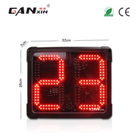 [Ganxin] 8 large multifunctional day countdown clock counter led digital electronic basketball shot clock