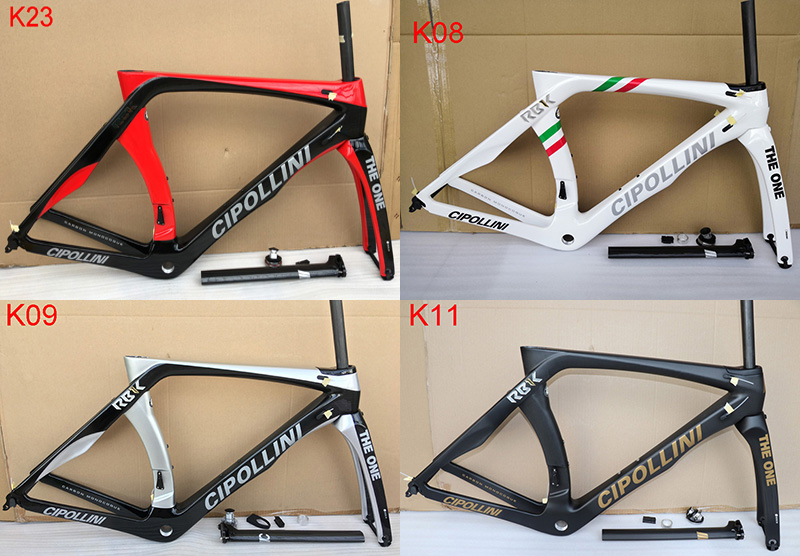 Carbon-Road-Frame T1100 RB1K Cipollini Fork RB1000 with Seatpost-Size XXS XL XL