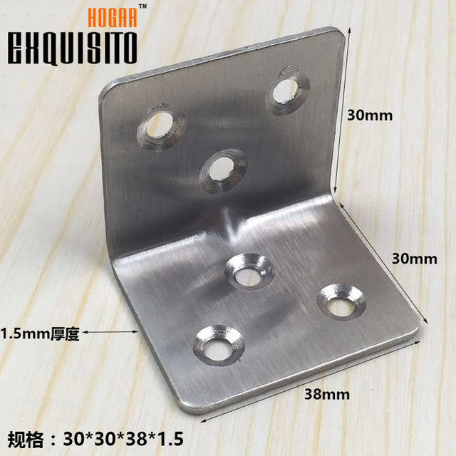 corner steel corner code triangular bracket angle iron bracket table